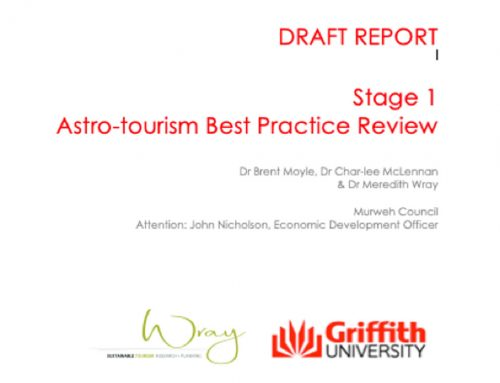 Astro Tourism Best Practice Review