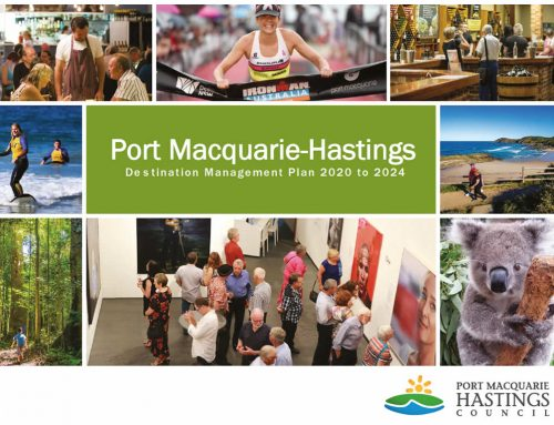 Port Macquarie Hastings Destination Management Plan 2020 to 2024